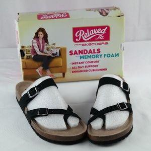 Skechers Granola Opt Out Sandals Sz 10